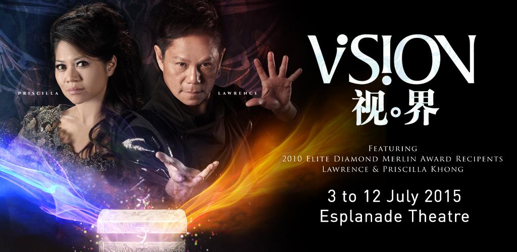 VISION @ Esplanade Theatre 2015